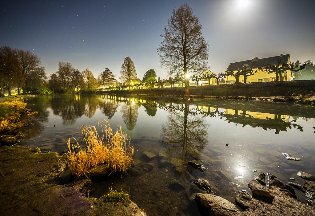 Ludwig-Rehbock Park bei Nacht ©MarkusLandsmann