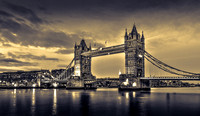 Tower Bridge in split toning